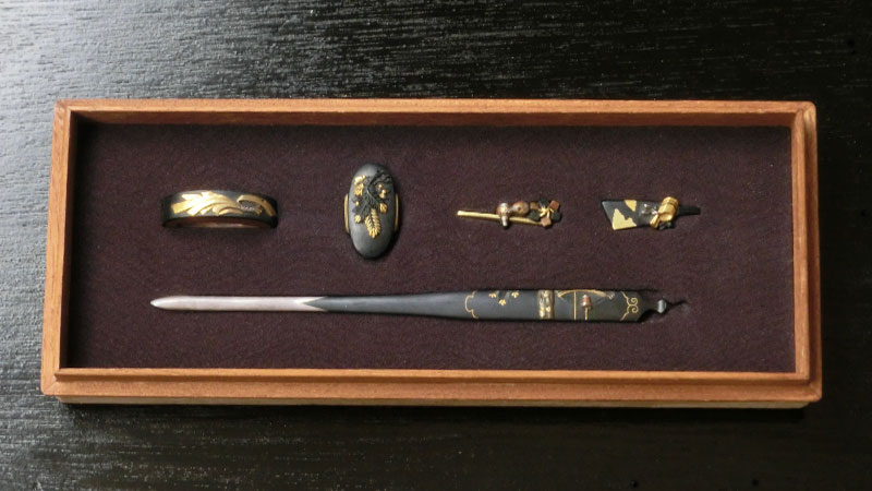 HiSUi TOKYO OnlineSTORE 刀剣・日本刀 揃い金具 光烈・正月図